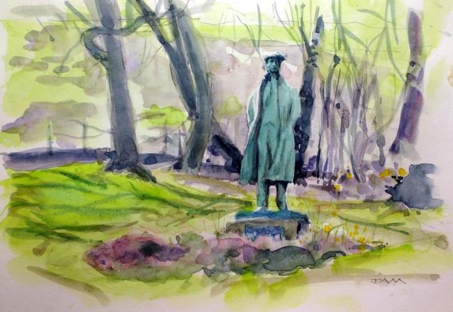 Ammon's Statue #1