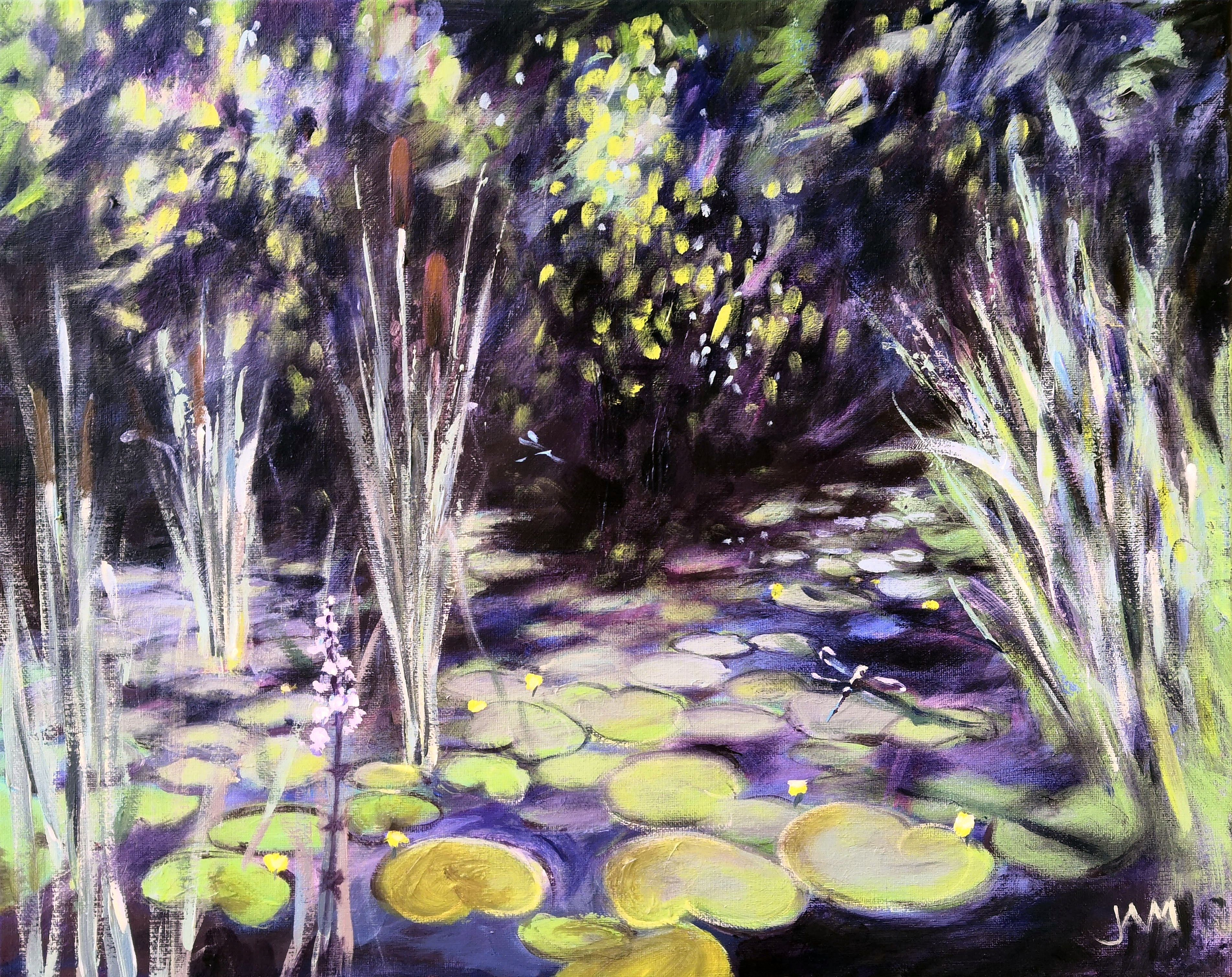 Lilypads & Dragonflies