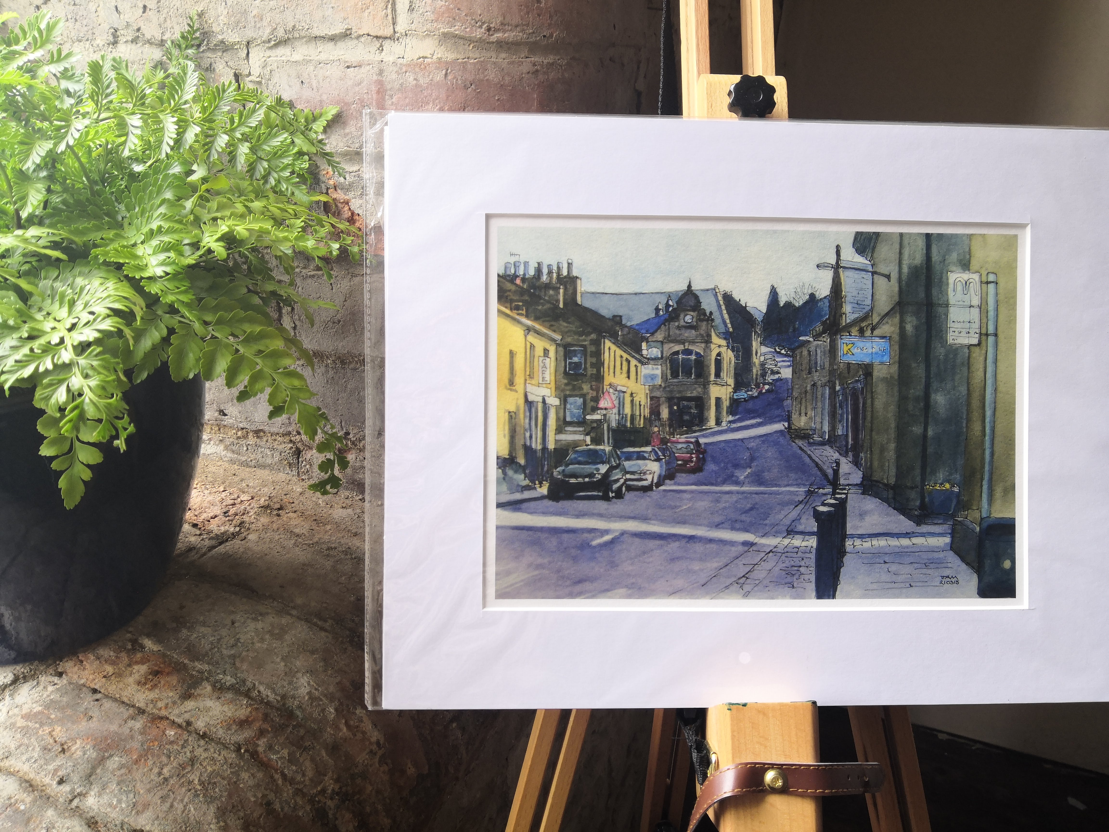 King Street Delph Print
